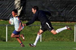 Mondial de Rugby : Les Bleus battus par des enfants... avec le sourire !