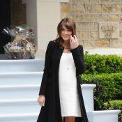 Carla Bruni enceinte : Sa grossesse en images