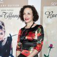 """""""Bebe Newirth au cinquantième anniversaire de  Diamants sur canapé  de Blake Edwards, à New York, le 20 septembre 2011."""""""