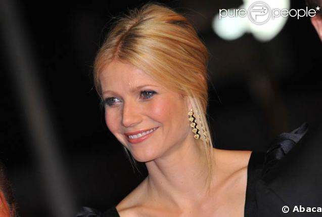 Gwyneth Paltrow à la projection de Two Lovers, le 19/05/08