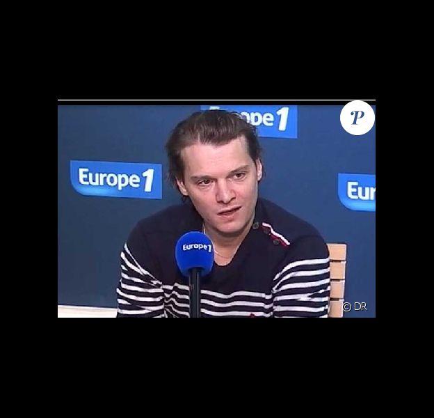 Bénabar le jeudi 29 septembre 2011 sur Europe 1