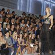 Défilé Dior printemps/été 2012 avec Orlando Bloom au premier rang