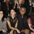 Olivia Palermo et Patrick Demarchelier lors du défilé Dior le 30 septembre 2011