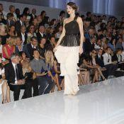 Fashion Week : Miranda Kerr chez Dior sous les yeux de son Orlando Bloom