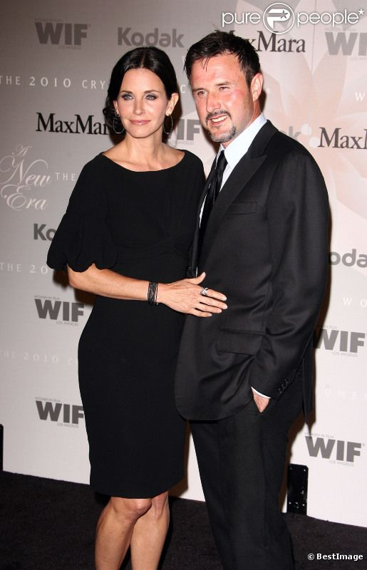 Courteney Cox et David Arquette à Los Angeles en juin 2010