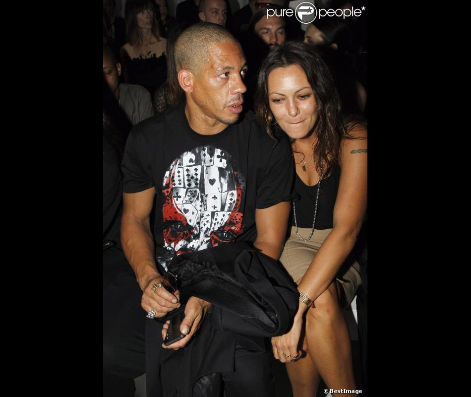Joey Starr Et Karole Rocher Au D 233 Fil 233 Printemps 233 T 233 2012 De Givenchy Lors De La Fashion Week
