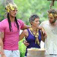 Anthony et ses camarades jaunes dans Koh Lanta