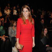 Fashion Week : Beatrice d'York affinée et stylée pour applaudir Elie Saab