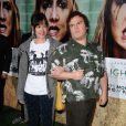 L'avant-première d'Enlightened à Los Angeles le 6 octobre 2011 : Jack Black fait le pitre, comme toujours.