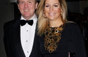 La princesse Maxima en panthère noire de la famille royale pour un soir de gala