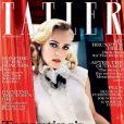 Diane Kruger, sublime en couverture du Tatler anglais de septembre 2009.