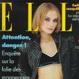 Diane Kruger à 20 ans, en Une du magazine Elle. Novembre 1996.