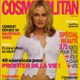 Diane Kruger en couverture du Cosmopolitan de juin 2004.