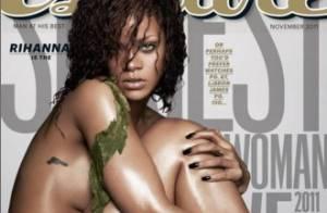 Rihanna : fille la plus sexy de l'année, elle n'hésite pas à se couvrir de boue