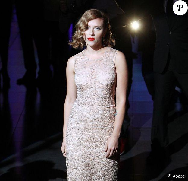 Scarlett Johansson le 25 septembre 2011 à Milan