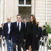 Carla Bruni : Son accouchement n'a pas encore eu lieu, la preuve !