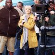 Sarah Michelle Gellar en plein tournage de sa série avortée, The Wonderful Maladys, le 12 mai 2009 à New-York.