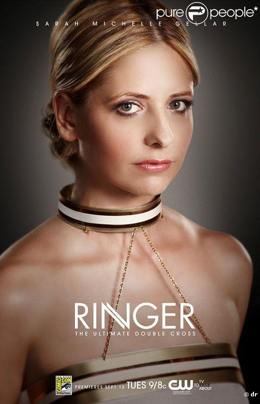 Sarah Michelle Gellar dans Ringer, sa nouvelle série.