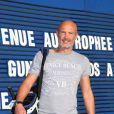 Frank Leboeuf lors du trophée Novotel des personnalités au golf à Guyancourt le 15 octobre 2011