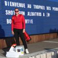 Elodie Suigo lors du trophée Novotel des personnalités au golf à Guyancourt le 15 octobre 2011