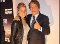 Bernard Tapie si fier avec sa fille, non loin d'Adeline Blondieau, jeune maman