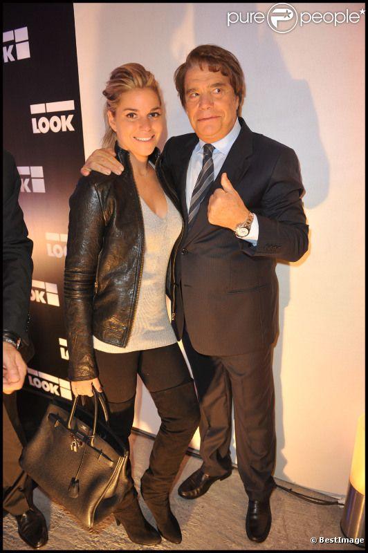 Bernard et Sophie Tapie lors de la soirée d'inaguration de la boutique Look rue Saint-Honoré à Paris le 17 octobre 2011