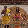Le 15 octobre 2011, au surlendemain de leur mariage, le roi Jigme et la reine Jetsun ont honoré l'armée du Bhoutan, à Thimpu.