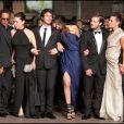 """""""JoeyStarr et l'équipe de Polisse à Cannes le 13 mai 2011. """""""