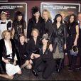 """""""JoeyStarr et l'équipe du Bal des actrices à Paris, le 19 janvier 2009. """""""