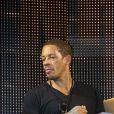 """""""JoeyStarr le 19 septembre 2011 à la soirée de lancement de FIFA 12 au VIP room de Paris. """""""