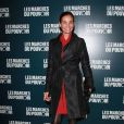 Inès Sastre à la projection du film de George Clooney Les Marches du pouvoir, à Paris. 18 octobre 2011