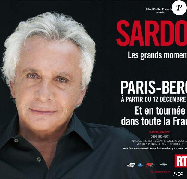 Michel Sardou entamera une tournée dédiée à ses plus grands moments le 30 novembe 2012.