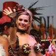 Clara Morgane a fait le show sur le podium ! Elle est plus sexy que jamais sur le podium du Salon du Chocolat. Le 19 octobre à la Porte de Versailles de Paris