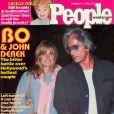 Bo et John Derek en couverture de  People , en février 1980.