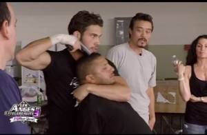 Les Anges de la télé-réalité 3: Kevin et Kamel en Action Men, Mathieu en bad boy