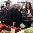 La princesse Mary et le prince Frederik en visite samedi 22 octobre 2011 au Garden Market, le jardin potager de New York, qui regorge de beaux produits frais...   La princesse Mary et le prince Frederik de Danemark étaient en visite à New York du 20 au 25 octobre 2011 dans le cadre du centenaire de la Fondation Américano-Scandinave (ASF).