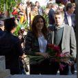 Visite au Garden Market d'Union Square et conférence menée par des chefs prestigieux auteur de la cuisine nordique, samedi 22 octobre à New York, tout est bon avec les saveurs du Danemark !   La princesse Mary et le prince Frederik de Danemark étaient en visite à New York du 20 au 25 octobre 2011 dans le cadre du centenaire de la Fondation Américano-Scandinave (ASF).