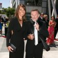 Robin Williams et Susan Schneider aux 62 ARTS CREATIVE EMMY AWARDS A LOS ANGELES le 21.08.10