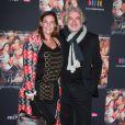 Franck Provost et sa fille Olivia lors de l'avant-première du film La Source des femmes à Paris le 24 octobre 2011