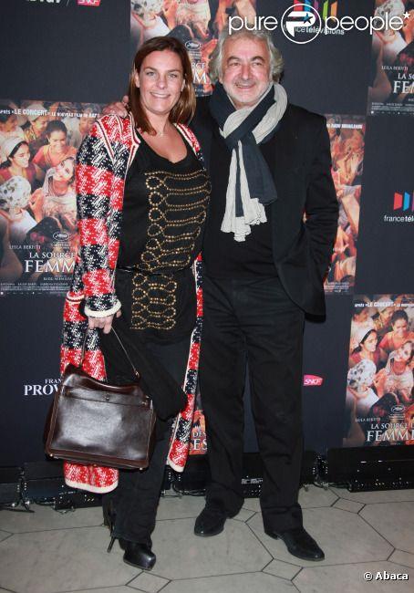 franck provost et sa fille olivia lors de l 39 avant premi re du film la source des femmes paris. Black Bedroom Furniture Sets. Home Design Ideas
