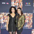 Aïda Touihri et Karima Charni lors de l'avant-première du film La Source des femmes à Paris le 24 octobre 2011