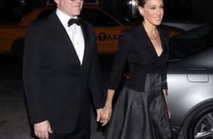 Sarah Jessica Parker lookée et amoureuse pour rencontrer le maire de New York