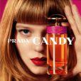 Après le parfum Candy, l'actrice Léa Seydoux a posé pour la collection Croisière 2012 de Prada.