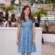 Léa Seydoux lors du photocall du film Midnight In Paris. Cannes, le 11 mai 2011.
