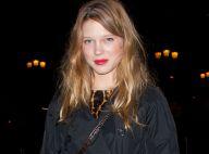 Léa Seydoux : couverte de bijoux et dos au mur pour une superbe croisière