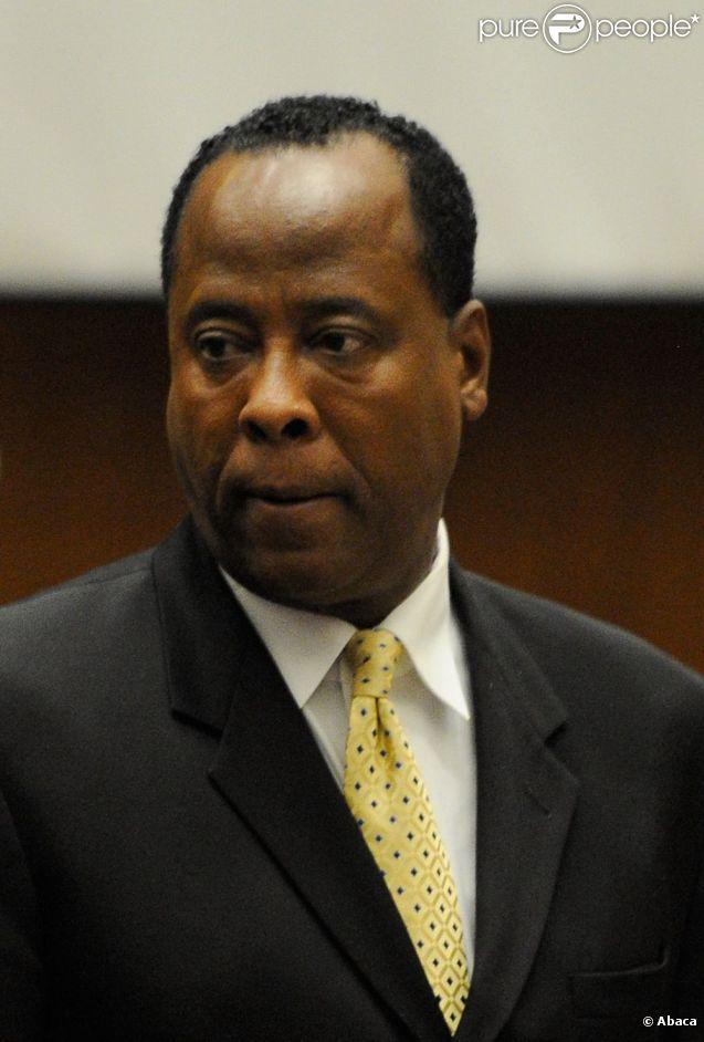 Procès de Conrad Murray accusé d'homicide involontaire sur Michael Jackson à Los Angeles le 31 octobre 2011 - ici Conrad Murray