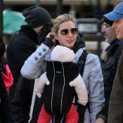 Ivanka Trump : Sa petite Arabella Rose bien emmitouflée découvre New York
