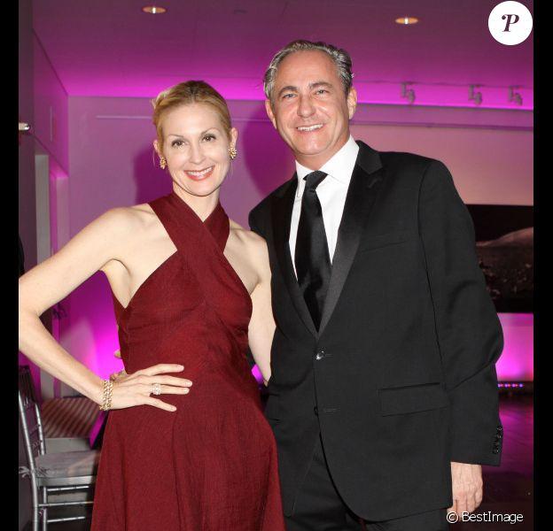 Kelly Rutherford et son nouveau compagnon l'avocat allemand Marcus Ernst, lors du gala L'Oréal à New York, le 2 novembre 2011