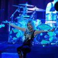 Avril Lavigne en concert à Paris en septembre 2011
