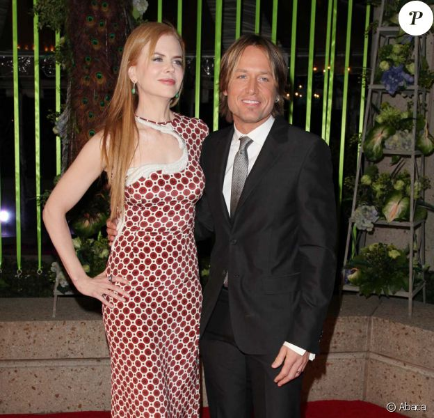 Nicole Kidman et Keith Urban aux BMI Country Music Awards, à Nashville, le 8 novembre 2011.